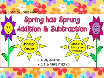 Spring has Sprung, Addition and Subtraction