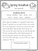 Spring has Sprung: CCSS Aligned Leveled Reading Passages & Activities Levels A-I