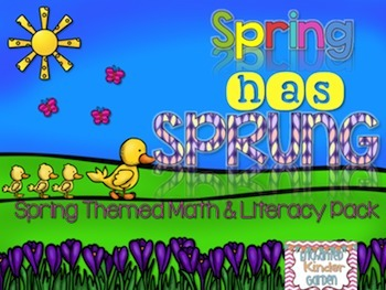Spring has Sprung: Math and Literacy