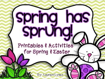 Spring has Sprung! {Printables & Activities for Spring & Easter}