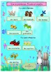 Spring in French booklet (animals, flowers, plural) for be
