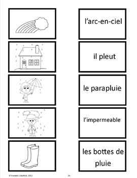 Spring Activities and Games in French - Le Printemps