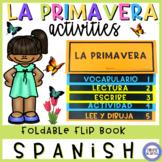 Spring in Spanish Flip Book - La primavera