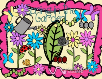 Spring in the Garden Clipart