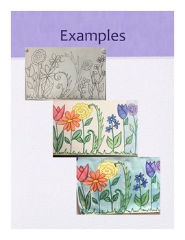 Spring into ART, K - 2 lessons