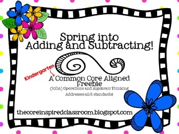 Spring into Adding and Subtracting!