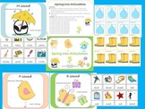 Spring into Articulation (early sounds- p,b,t,d,k,g,f,m)