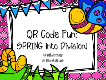 Spring into Division with QR Code Fun Common Core 5.NBT.6