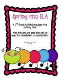 Spring into ELA: A 2nd Grade ELA Spring Activity Pack