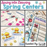 Spring Centers for Math and Language Arts