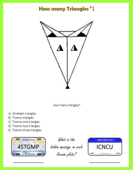 Spring into Geometry Puzzles
