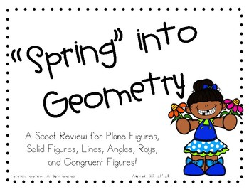 Spring into Geometry Scoot Review