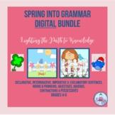 Spring into Grammar Digital Bundle (Distance Learning Grades 4-6)