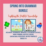 Spring into Grammar Bundle ( Grades 4-6 )