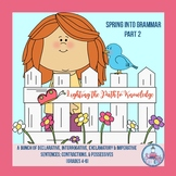 Spring into Grammar (Part 2) Grades 4-6