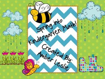 Spring into Kindergarten Math!