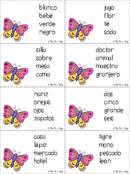 Spring into Language!!! ***SPANISH VERSION***