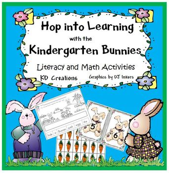 Hop into Learning with the Kindergarten Bunnies   *Literac