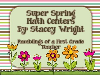 Spring into Math Centers!