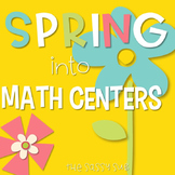 2nd Grade Spring Math Centers: Ballpark Estimates, Arrays, Measurement and more!
