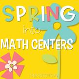 2nd Grade Spring Math Centers: Ballpark Estimates, Arrays,