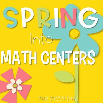 Spring into Math Centers: Common Core Aligned