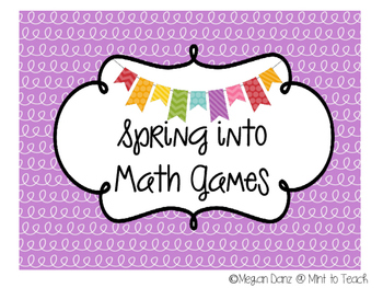 Spring into Math Games