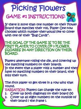 Kindergarten Hands-On Math Games