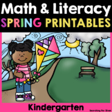 Spring Math and Literacy No-Prep {Kindergarten}