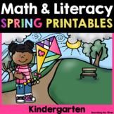 Spring Math & Literacy Printables {Kindergarten}