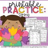 Spring Printable Practice