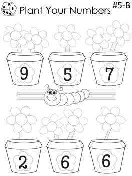 Spring into Math for First and Second Graders