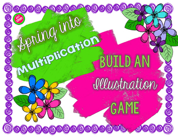 Spring into Multiplication : Build an Illustration Game