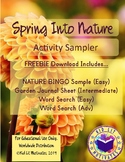 Spring into Nature Activity FREE SAMPLER