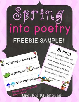 Spring into Poetry: FREEBIE Sample