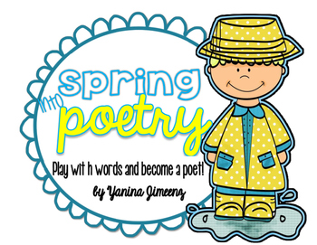 Spring into Poetry in April! Play with words and repetitio