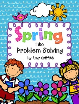 Spring into Problem Solving - Mixed Multi-Step Word Proble