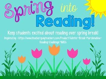 Spring into Reading [Spring Break Reading Log]