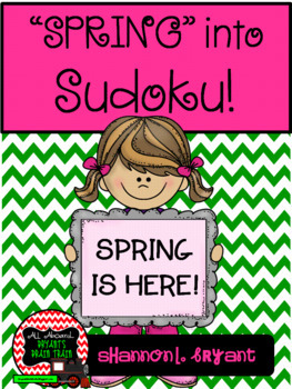 Spring into Sudoku! Puzzle Bundle