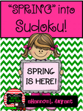 Spring into Sudoku! Puzzle Bundle