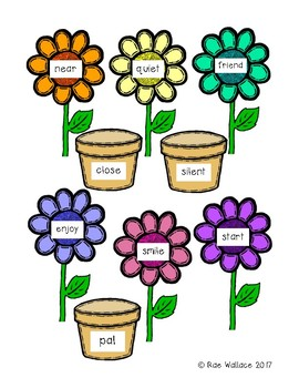 Spring into Synonyms Match-Up
