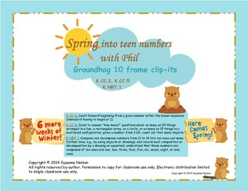 Spring into Teen Numbers with Phil