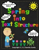 Spring into Text Structure Unit Common Core Aligned (RI.4.