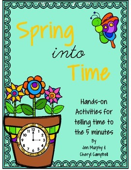 Spring into Time Activities {Telling Time to the Nearest 5