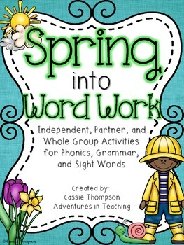 Spring into Word Work