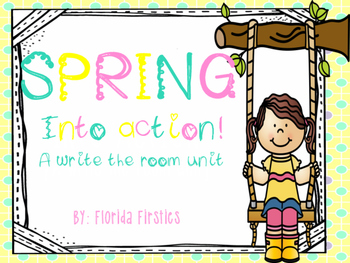 Spring into action! {write the room mini unit}