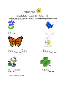 Spring into contractions and bossy control r