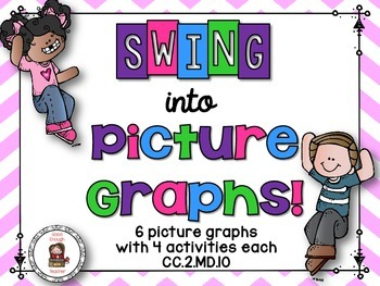 Swing into picture graphs! Task Cards - CC.2.MD.D.10