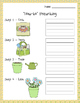 Spring is Blooming Writing Activity: How I Grew My Garden