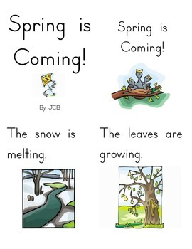 Spring is Coming! Book